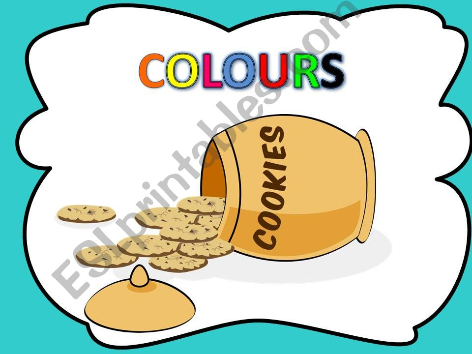 Who stole the cookies from the cookie jar- COLOURS- with sound