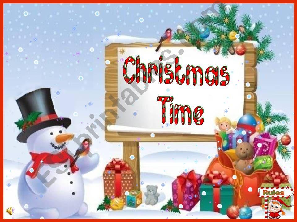 Christmas Time - a memory game