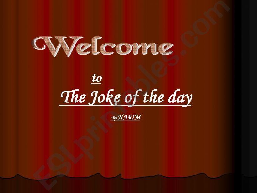 Jokes powerpoint