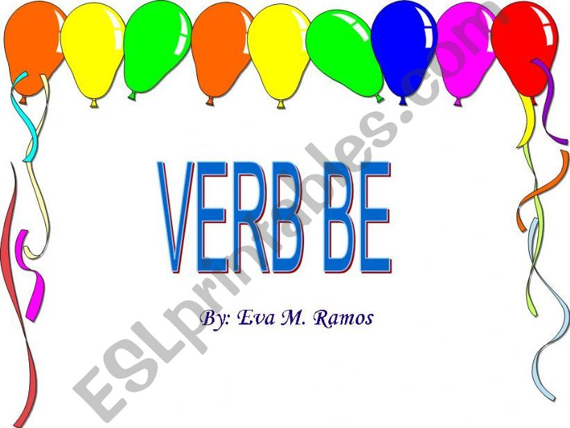 The Uses of the Verb Be (1st Part)