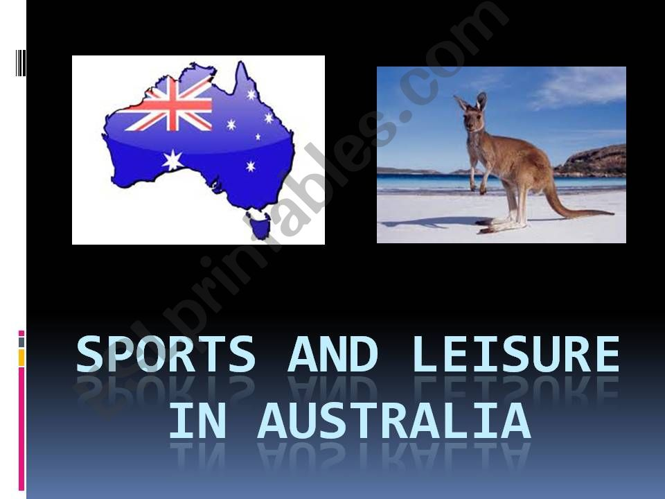 Sports and leisure in Australia