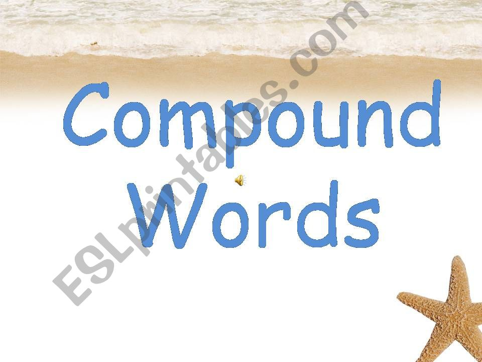 Compound Words1 powerpoint