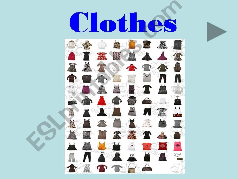 Clothers powerpoint