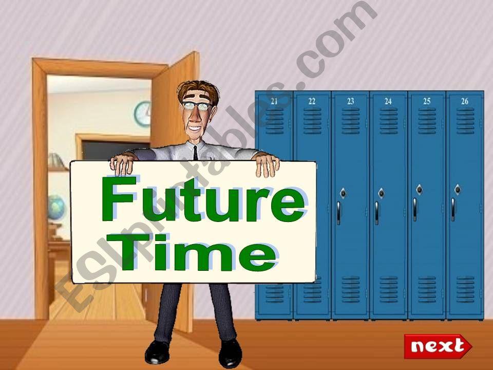 EXPRESSING THE FUTURE- Grammar lesson