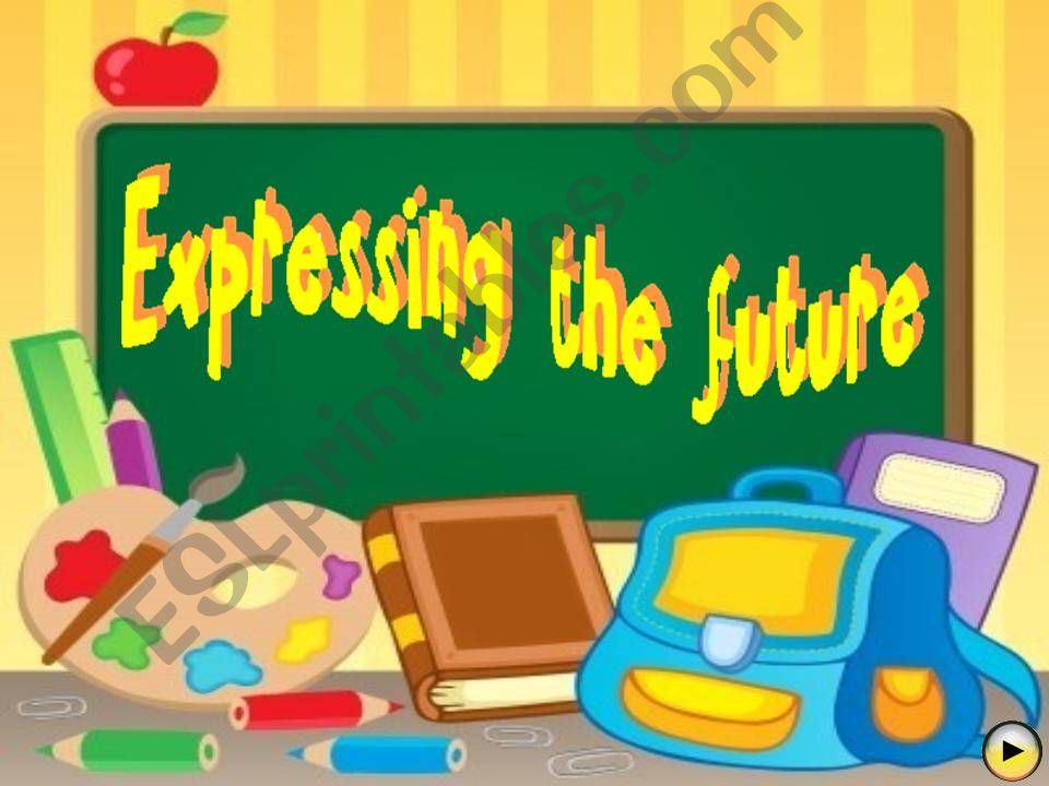 EXPRESSING FUTURE TIME - Multiple choice game