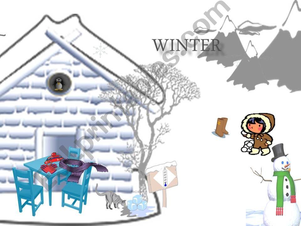 seasons 1 - winter powerpoint