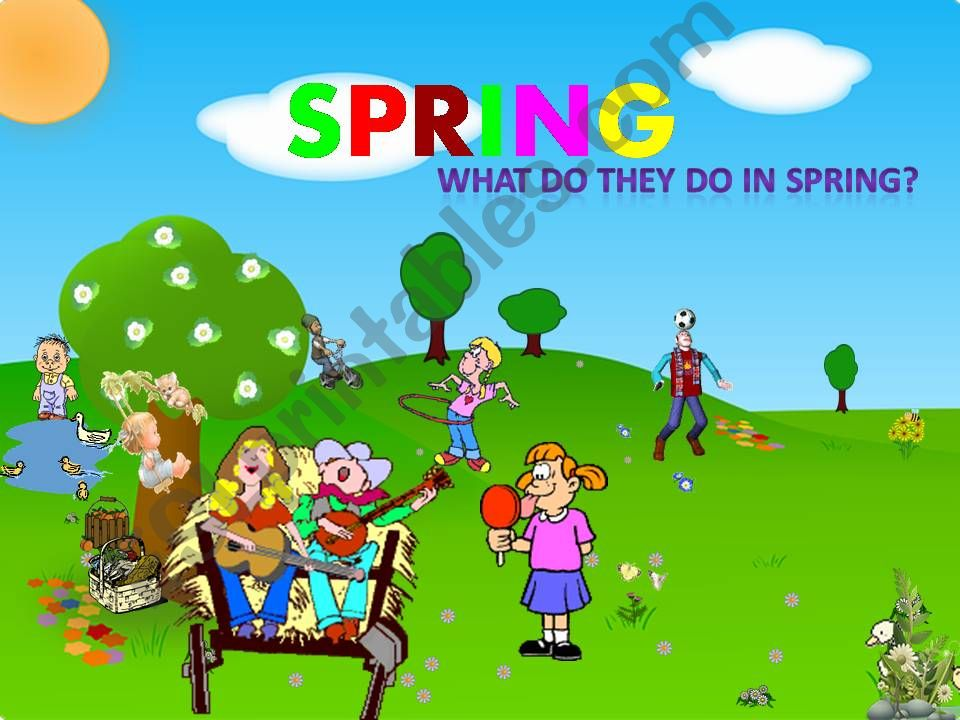 seasons 2 - SPRING powerpoint