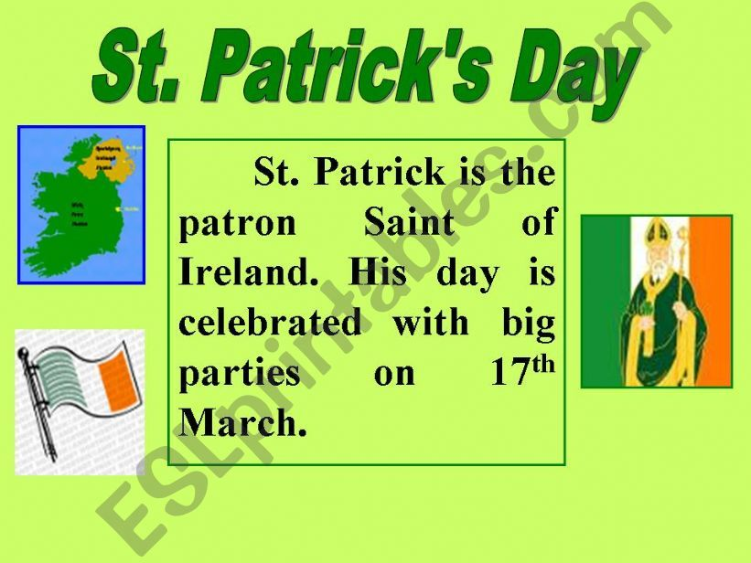 St. Patrick´s Day powerpoint