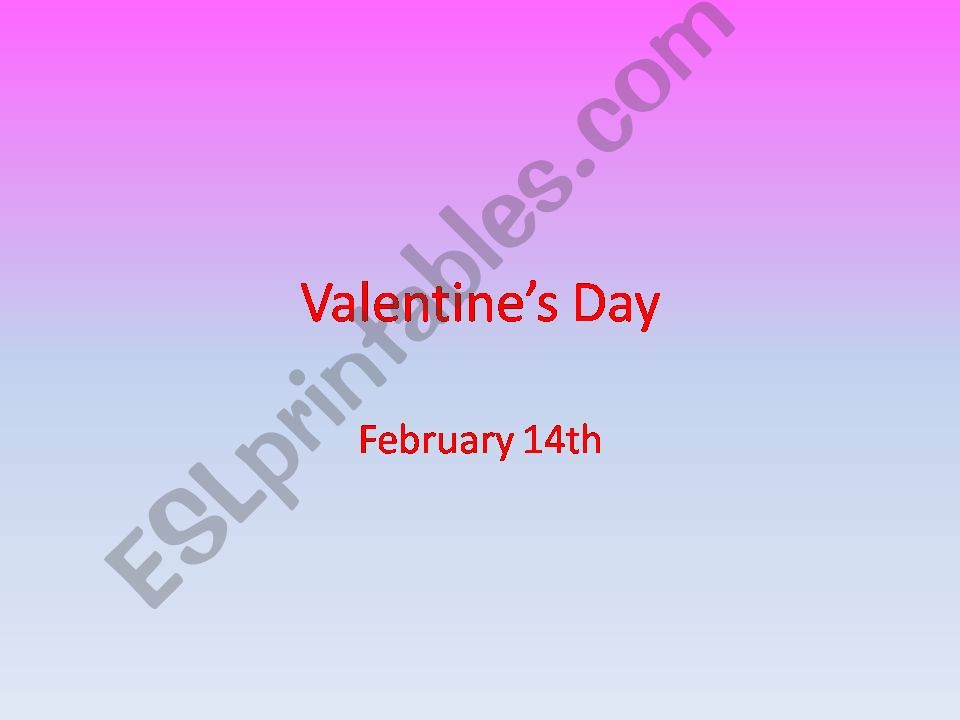 Valentine´s Day powerpoint