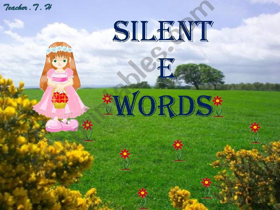 Silent (e) words- game/ part 2
