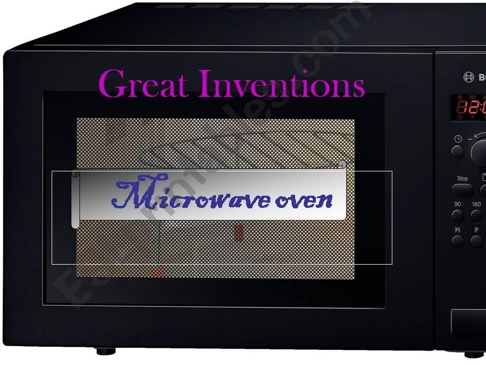 Great Inventions. Part 1. Microwave