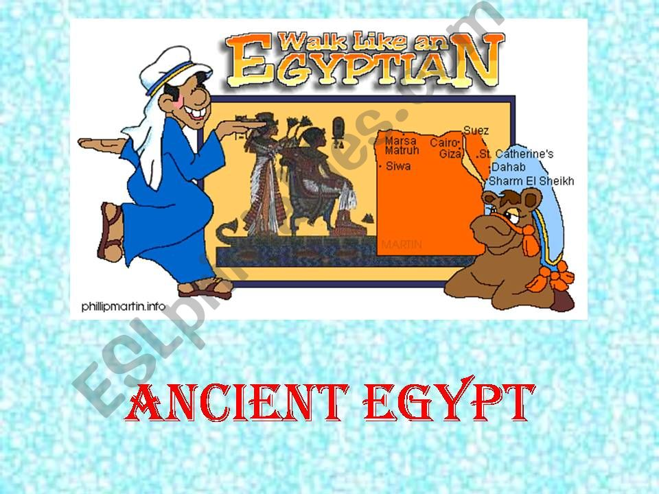 Ancient Egypt ( for a CLIL project)