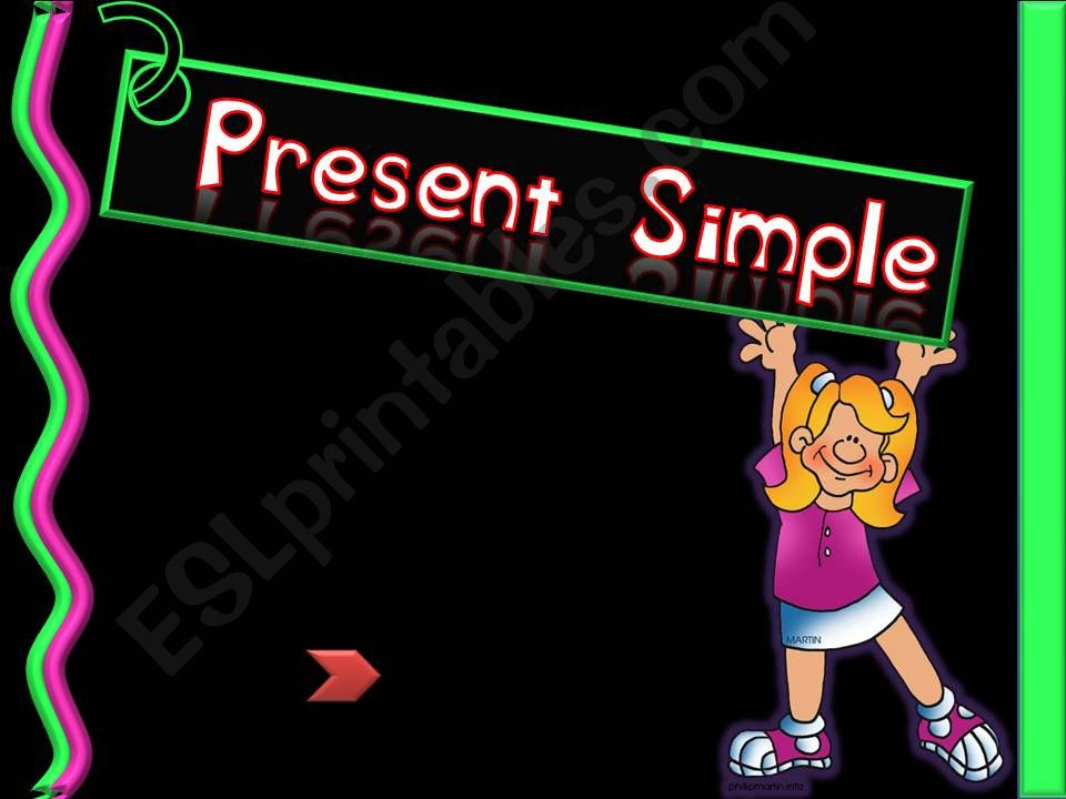 Present Simple - Part A powerpoint
