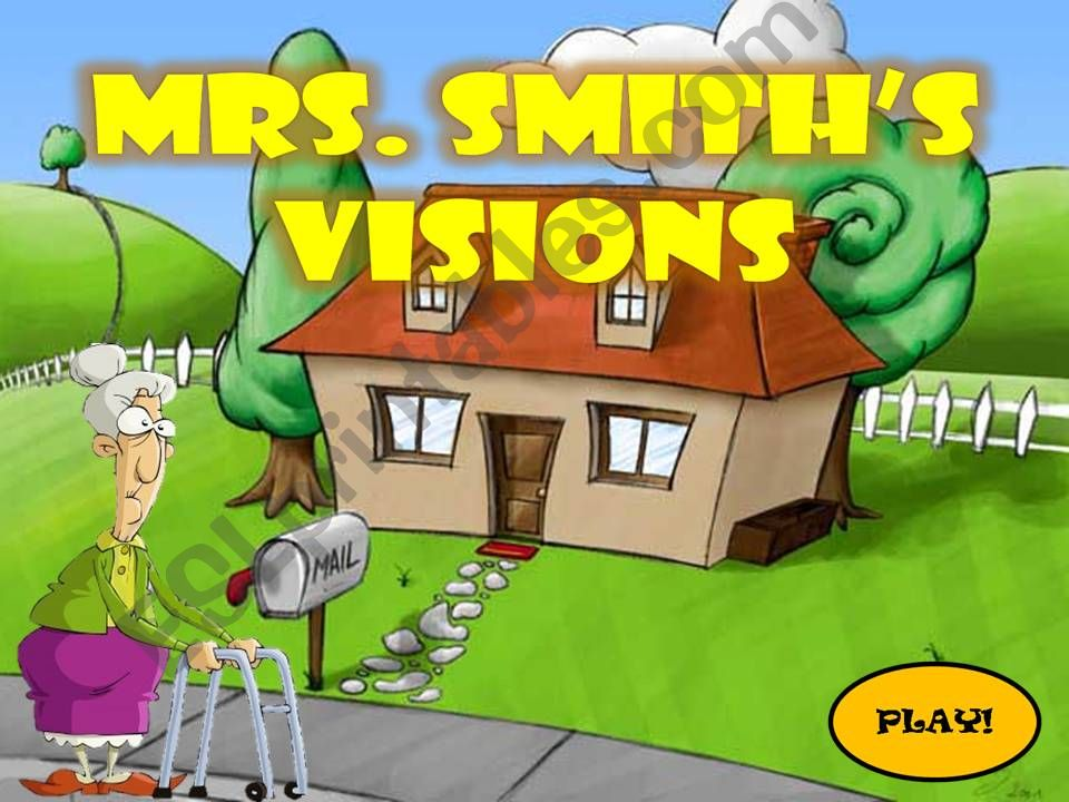 Mrs.Smith´s Visions- Describing people game (1/2)