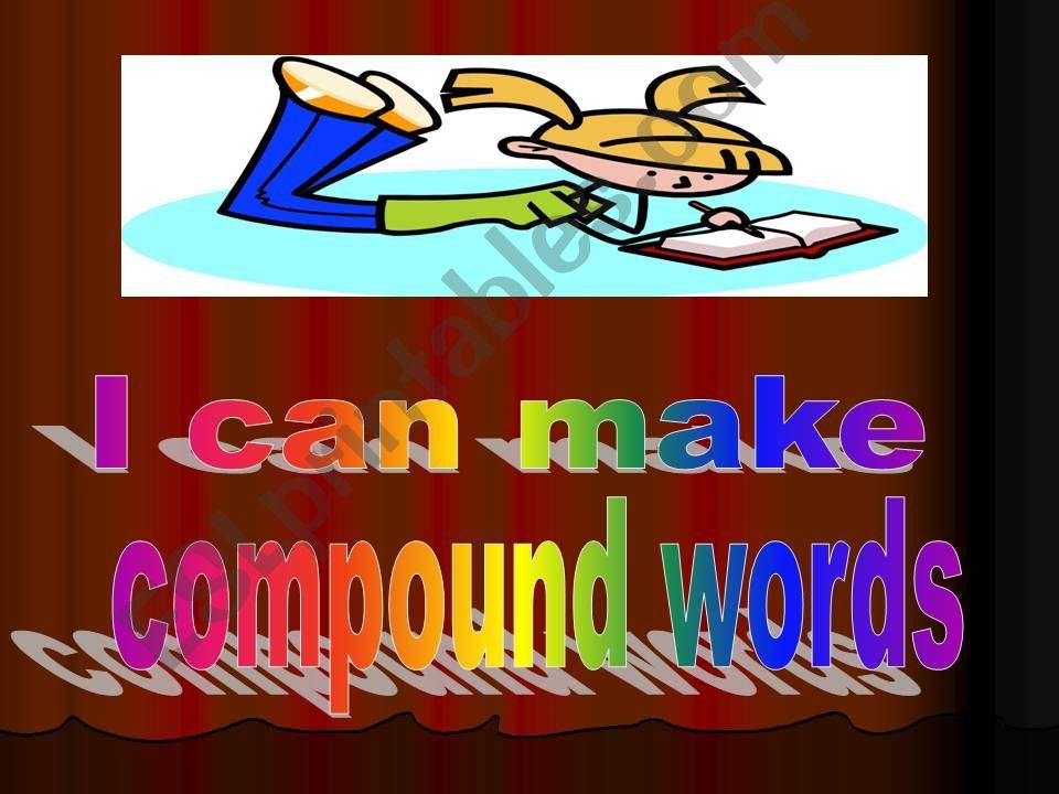 Compound Words - Part II powerpoint