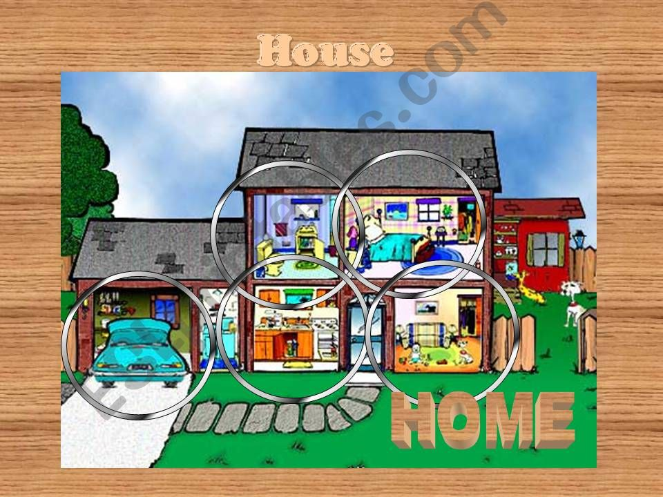 House Vocabulary powerpoint