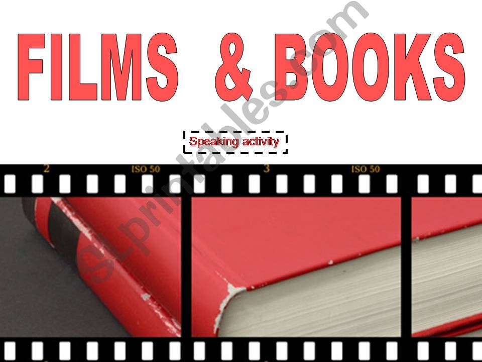 BOOKS AND FILMS powerpoint