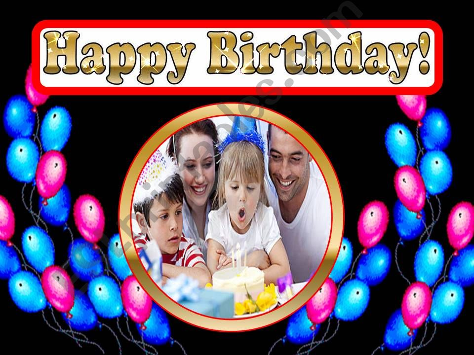 Birthday Party powerpoint