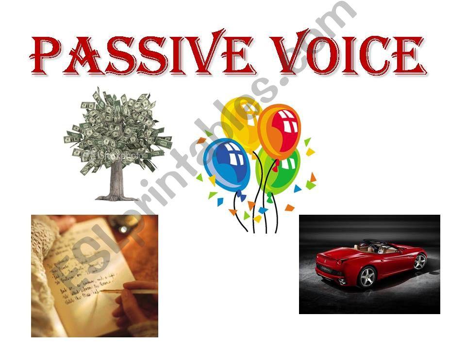 Passive Voice  powerpoint