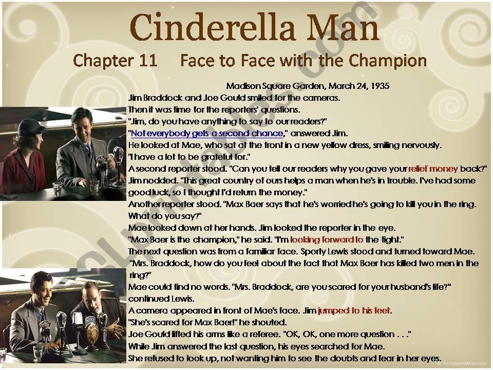 Cinderella Man  powerpoint