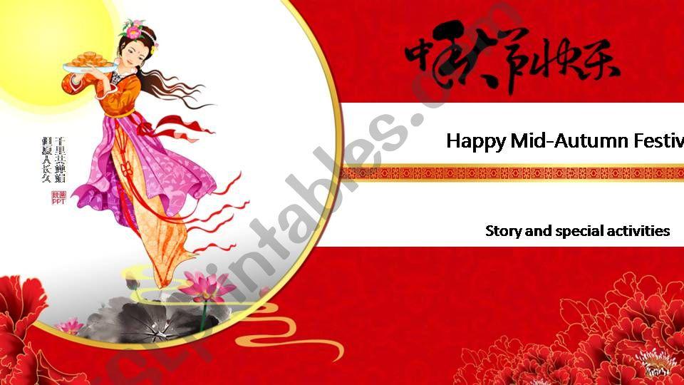 Happy Moon Festival  powerpoint