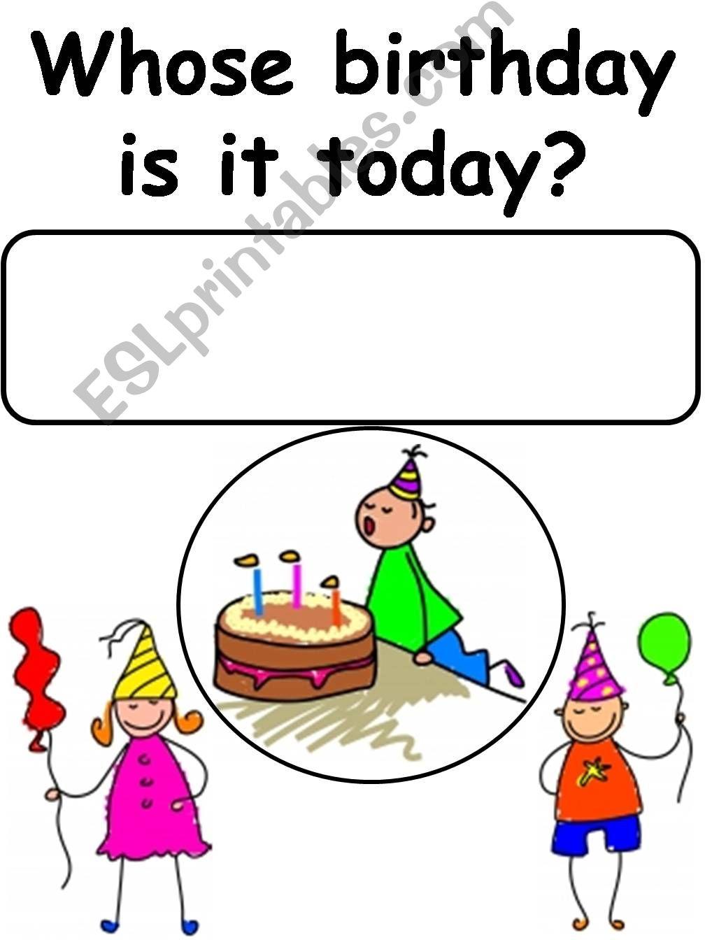Birthday Corner powerpoint