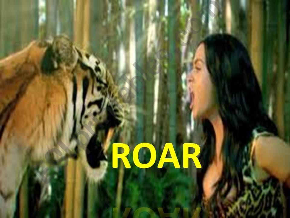 katy perry - roar powerpoint