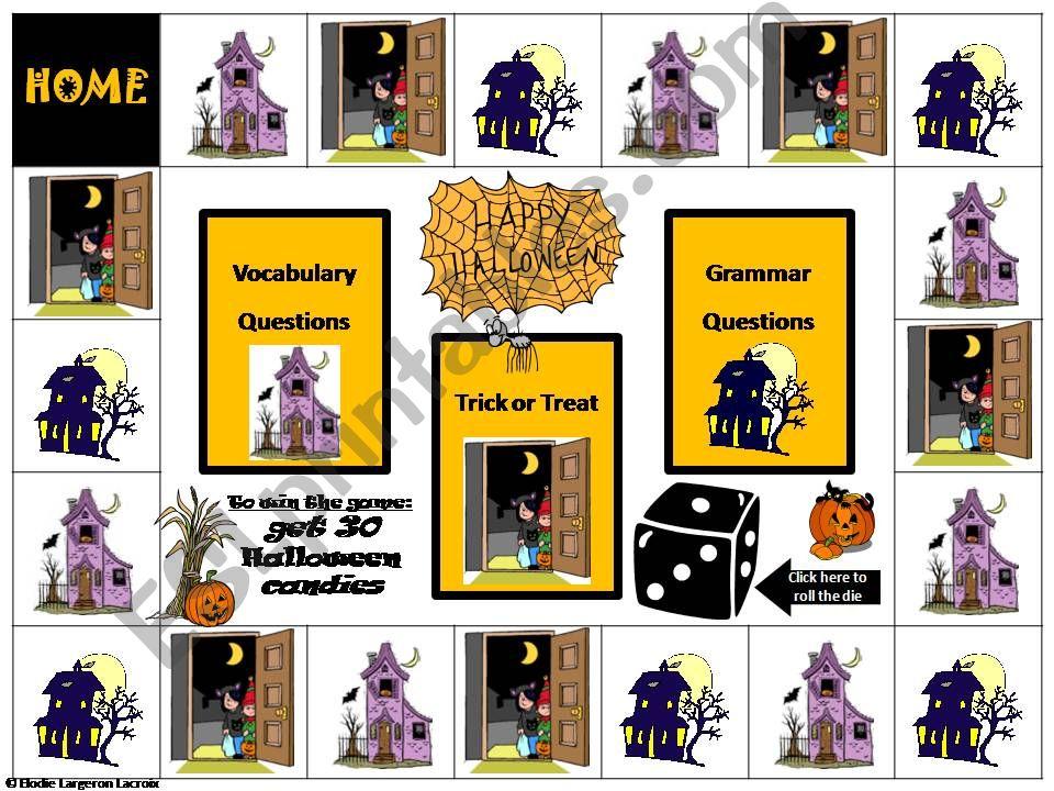 Halloween interactive game powerpoint