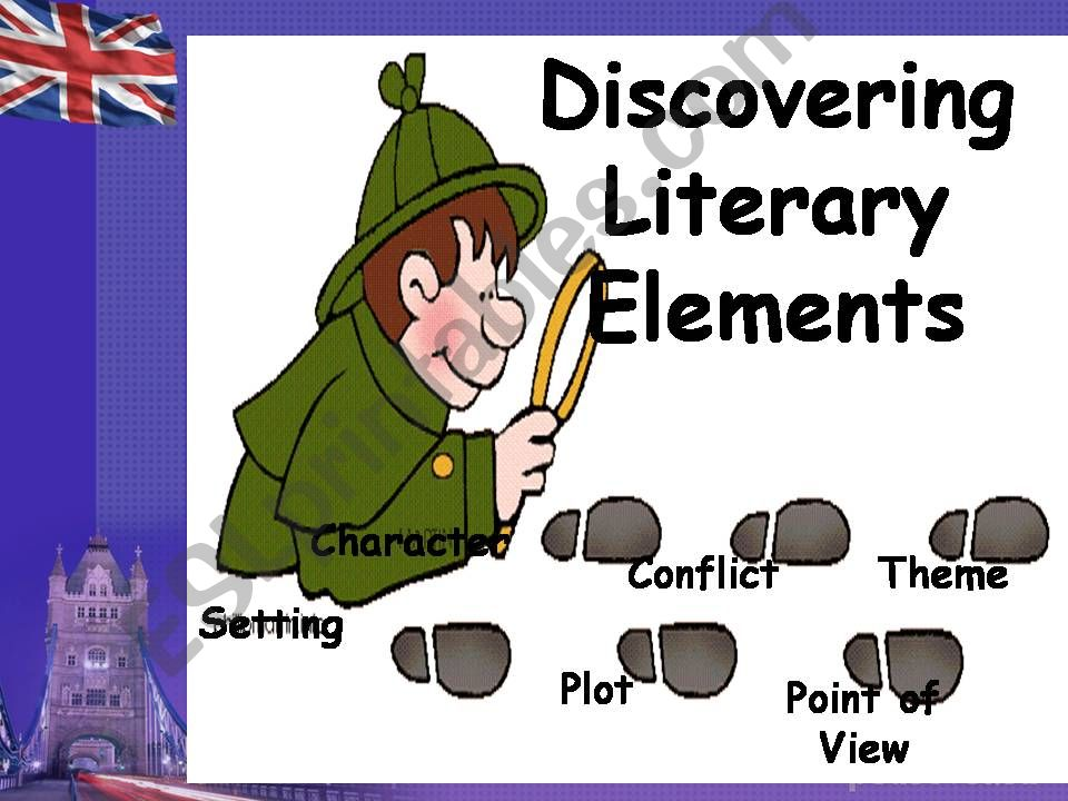 Discovering Literary Elements powerpoint