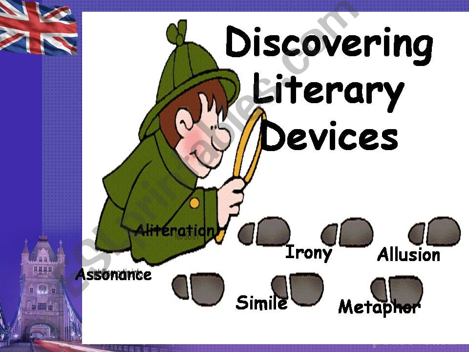 Literary devices Part 1 powerpoint