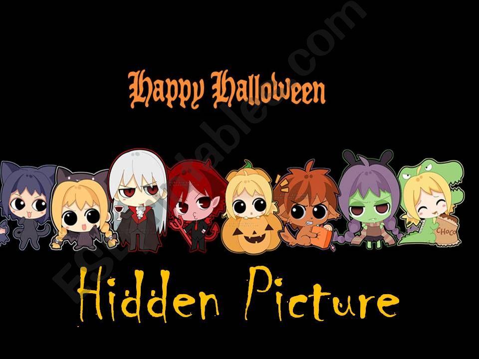 Halloween Hidden Picture
