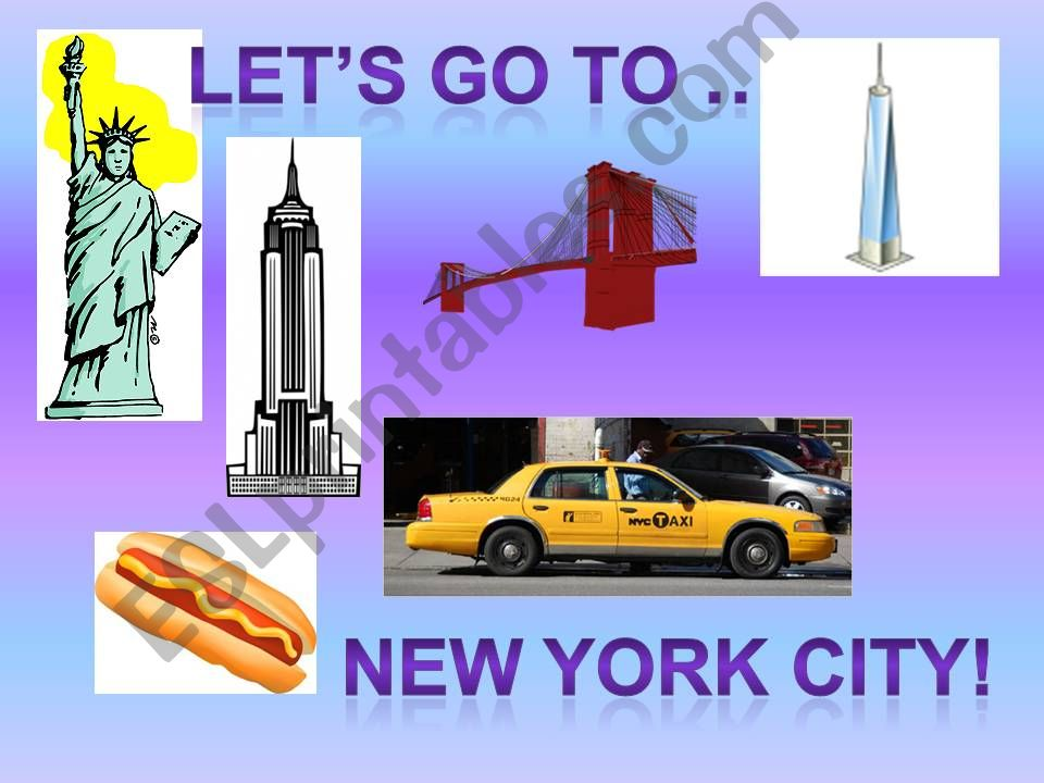 Let´s go to NYC part 1 powerpoint