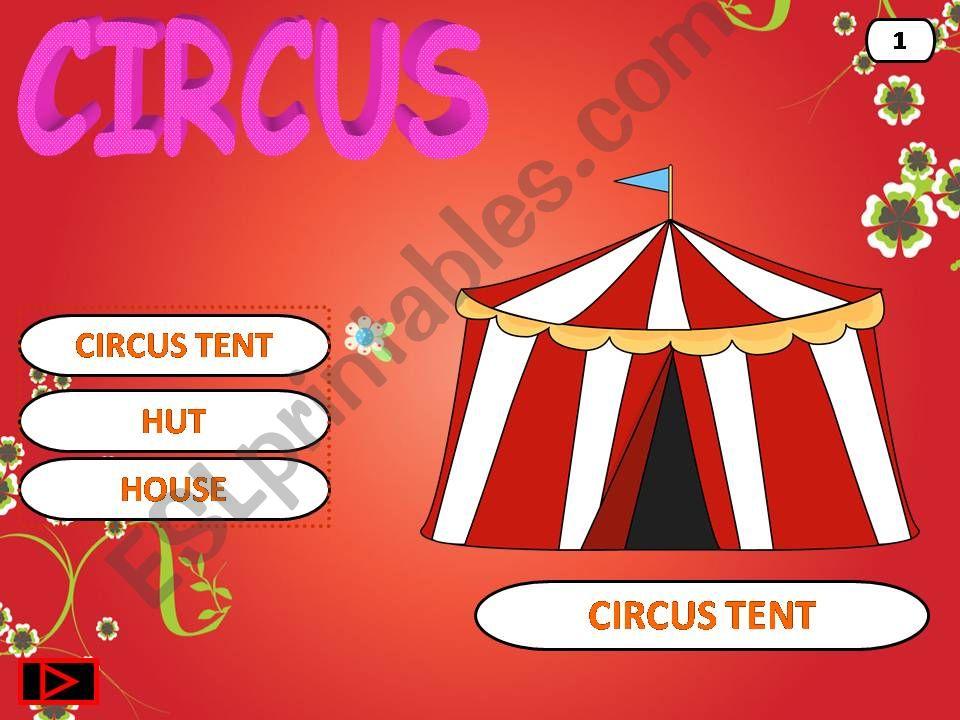 Circus powerpoint