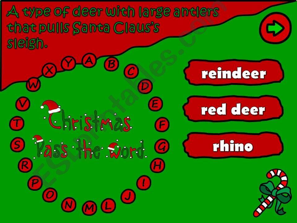 Pass the word - Christmas (5/6)
