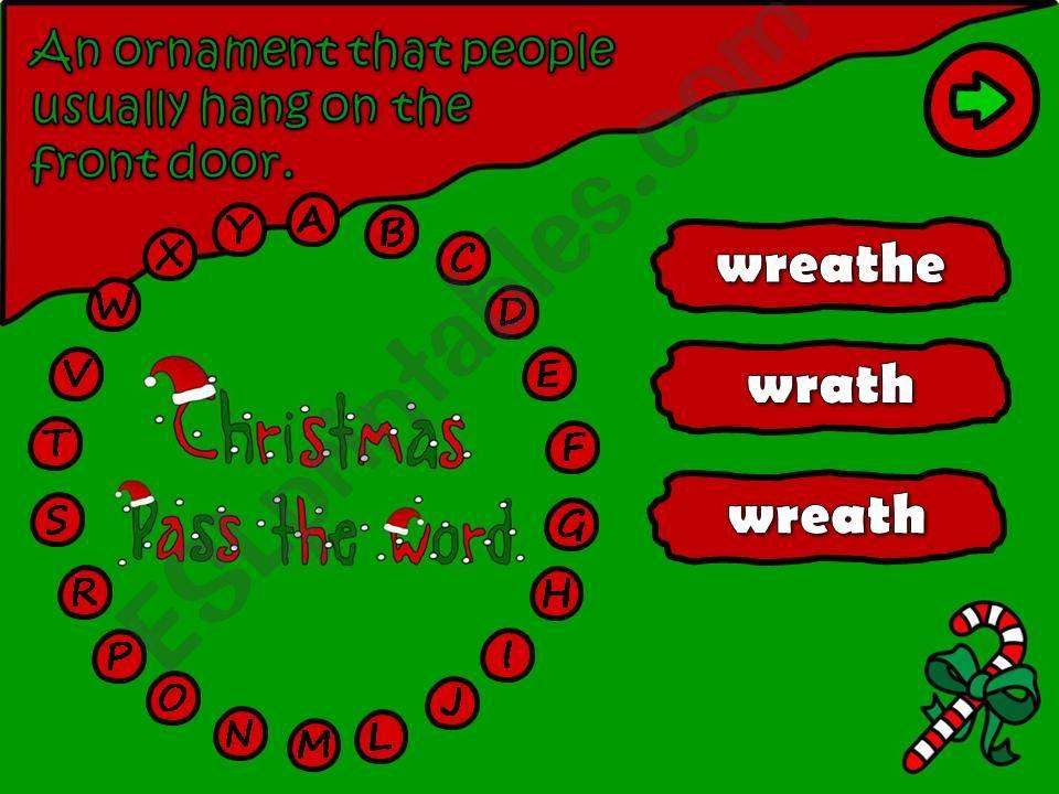 Pass the word - Christmas (6/6)