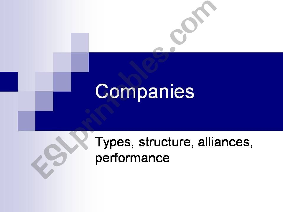 companies powerpoint