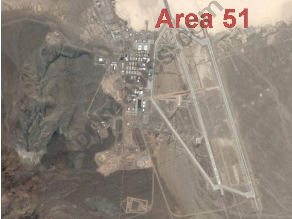 The Area 51 mystery powerpoint