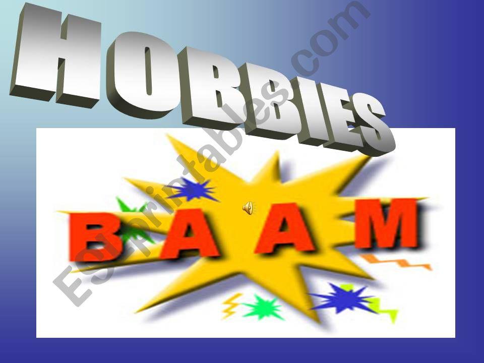 Hobbies Jeapardy 2 powerpoint