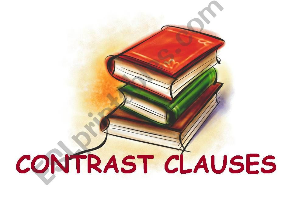 Contrast Clauses powerpoint