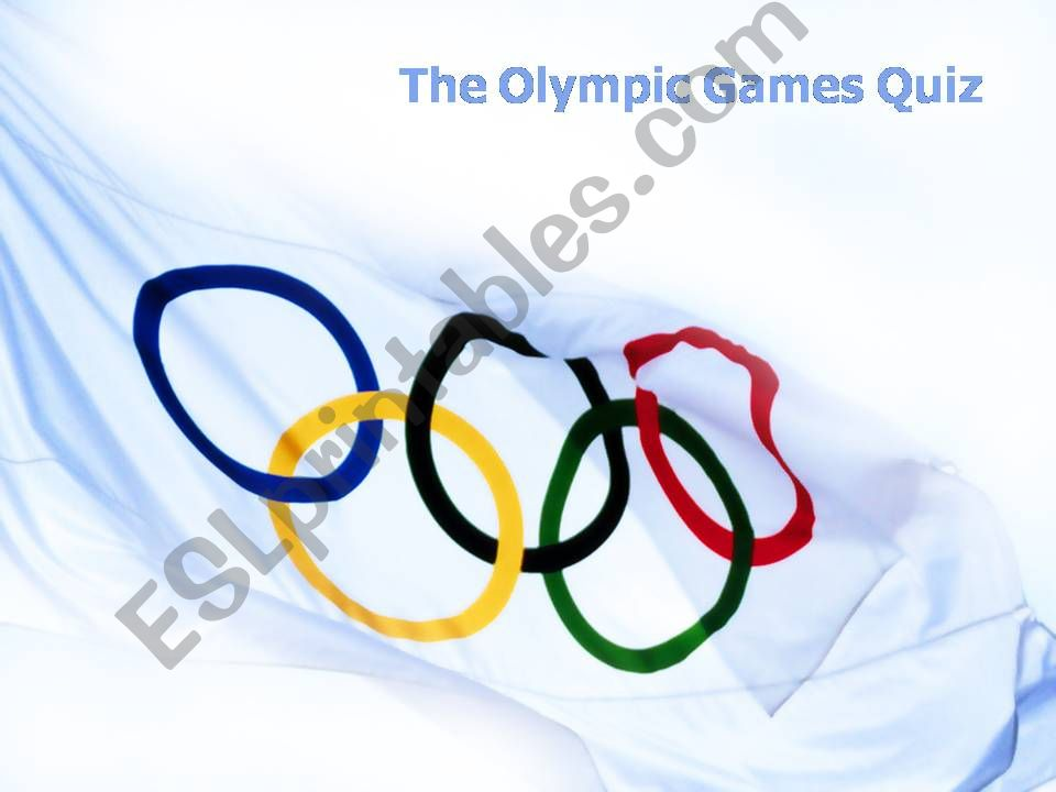 The Olympic Games Quiz (with answers)