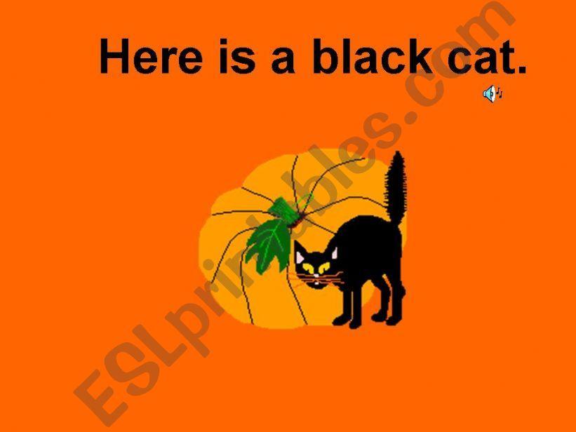 Halloween is Here! (part 4) powerpoint