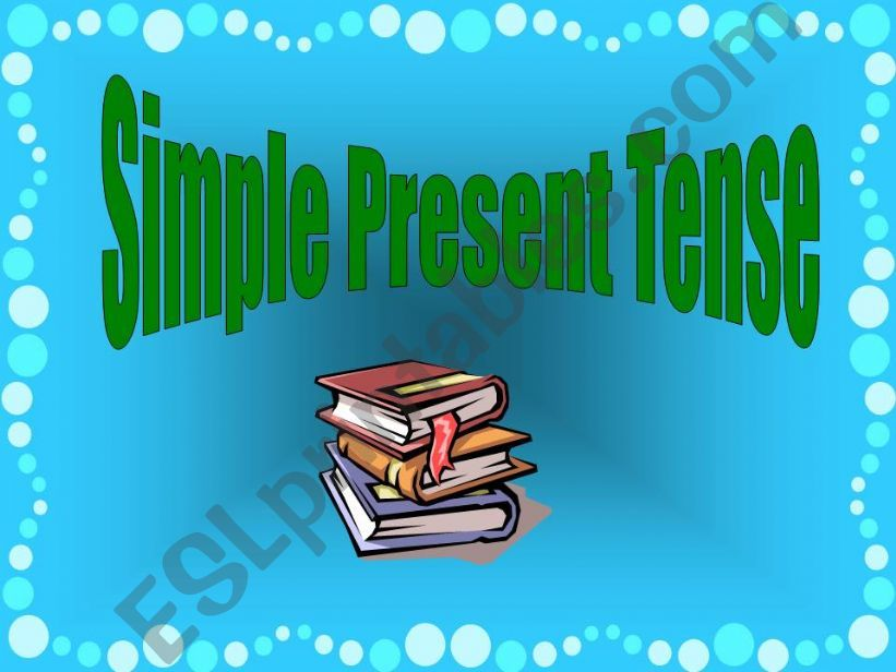 Simple Present presentation powerpoint