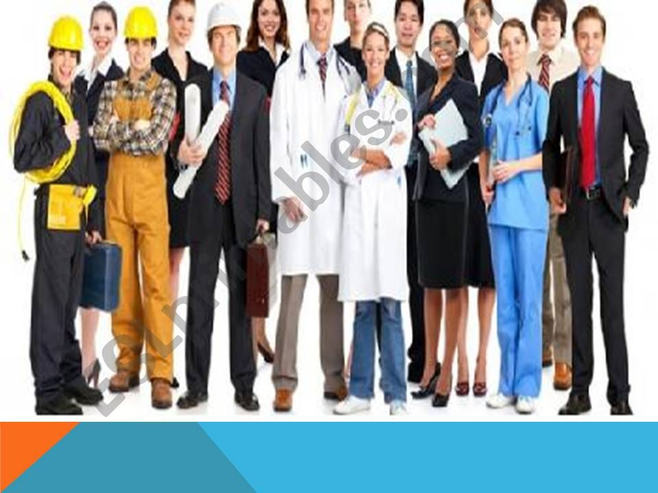 Names of professions powerpoint