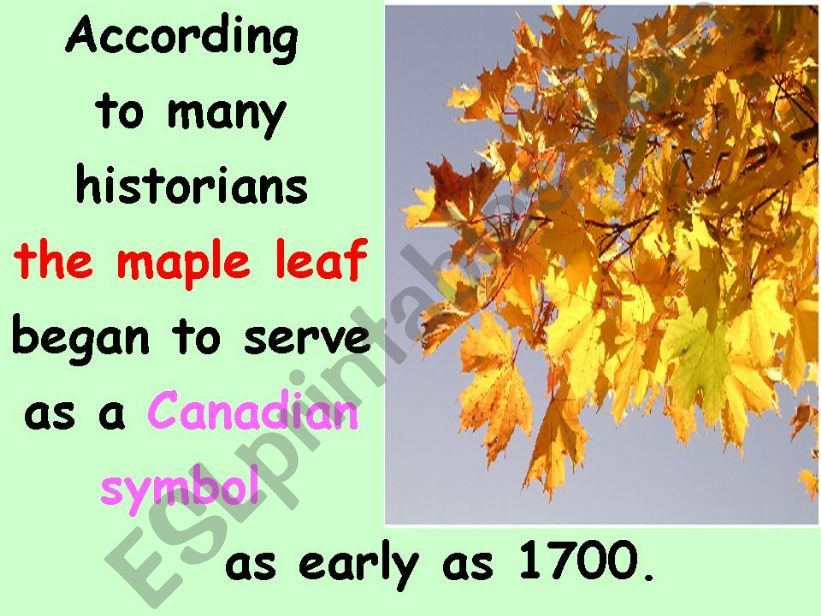 Canada Part 4 of 6 powerpoint