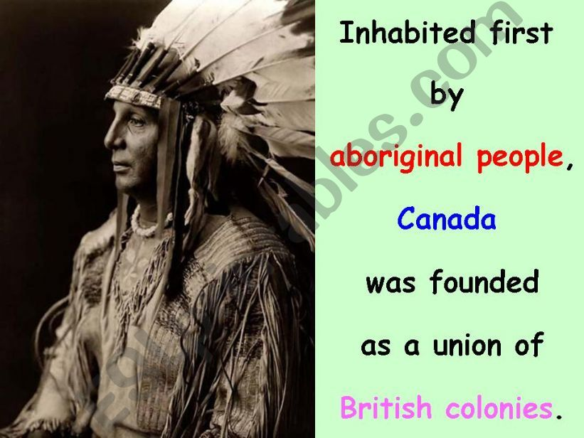Canada Part 2 of 6 powerpoint