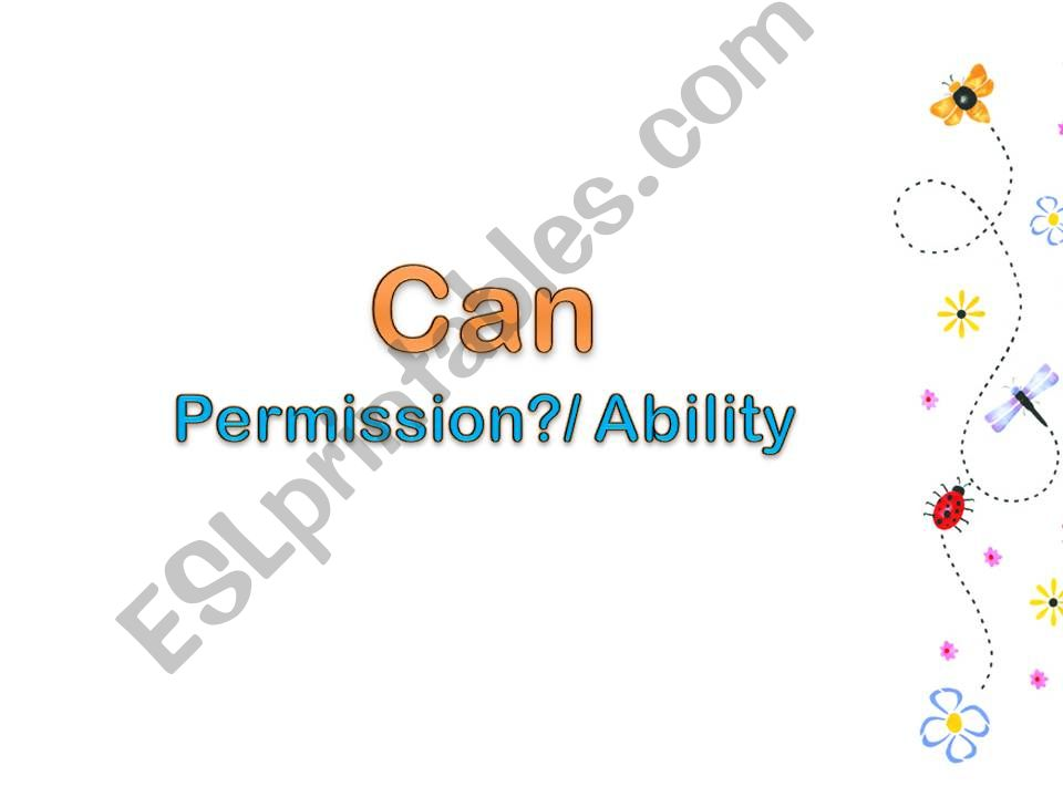 usage of can powerpoint