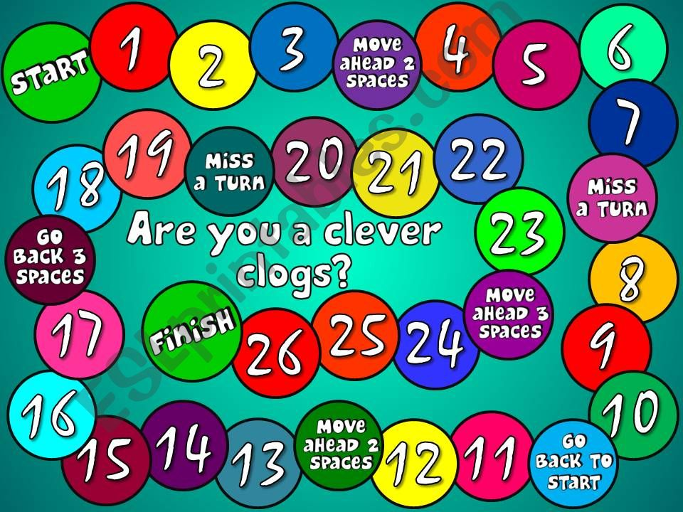 Are you a clever clogs? - boardgame