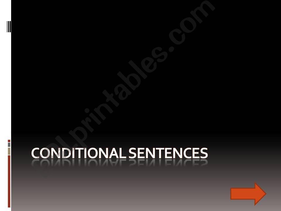 COnditional Sentences powerpoint