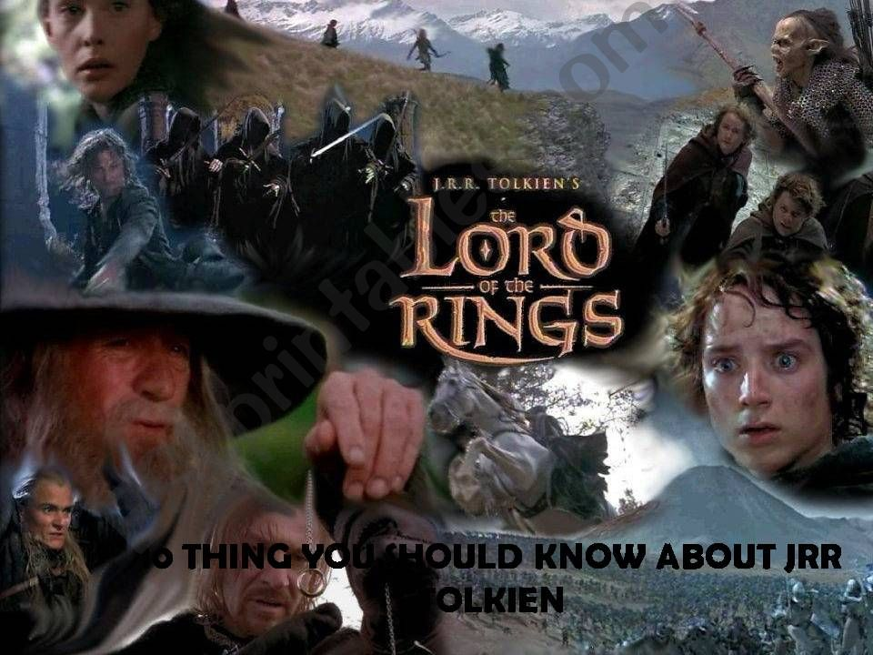 10 Thing you shoul know about Tolkien