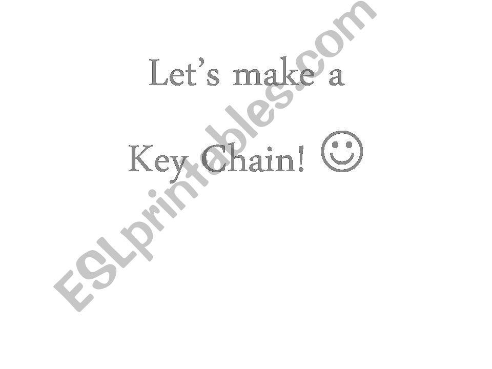 key chain powerpoint